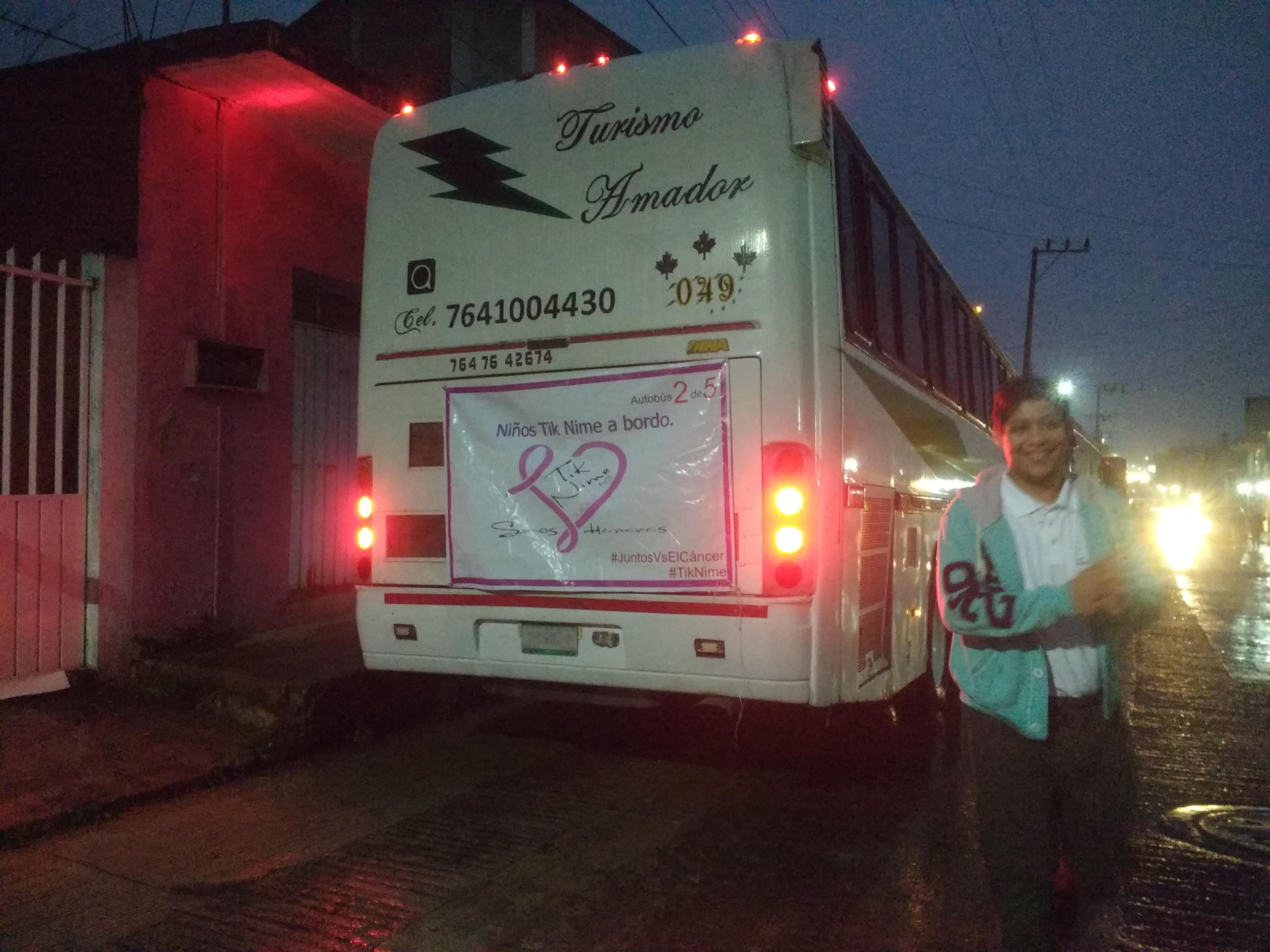 Saliendo rumpo a Tuxpan, Veracruz.