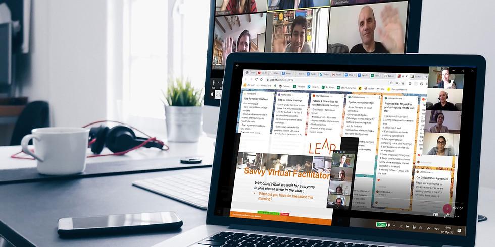SAVVY Virtual Facilitator | Design and run engaging online events