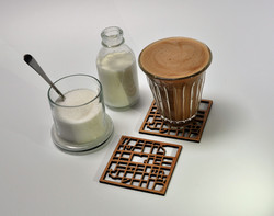 Belfast Map Coasters Two
