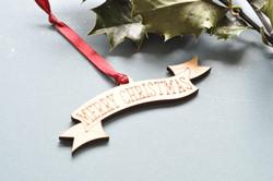 Christmas Banner Decoration.