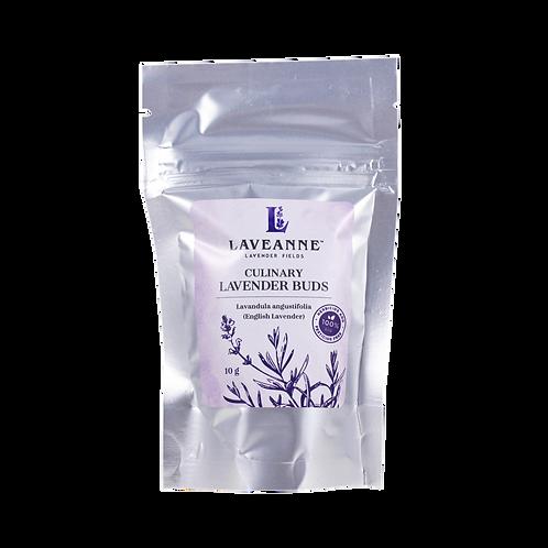 Dried Culinary Grade Lavender Buds 10g