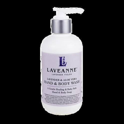 Lavender, Omega 3- Hemp and Aloe Hand and Body Wash 237ml