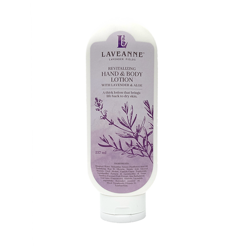 Revitalizing Hand and Body Lotion With Lavender and Aloe