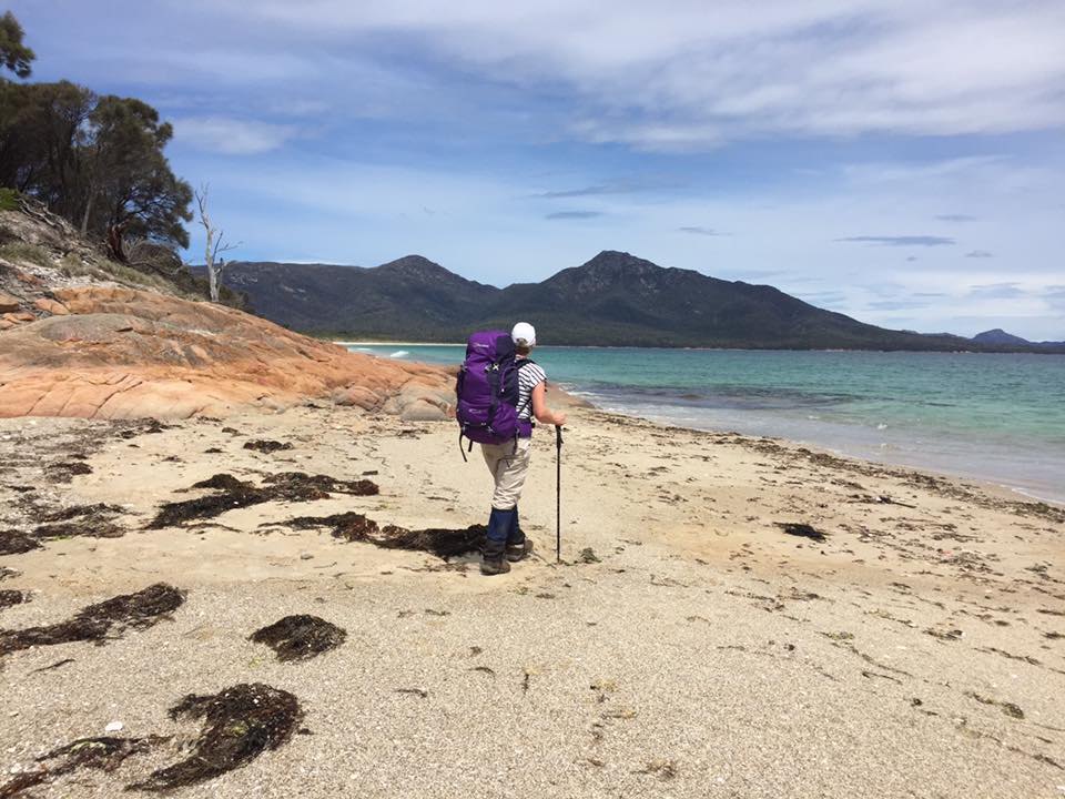 Just reached Hazards Beach - Freycinet Circuit