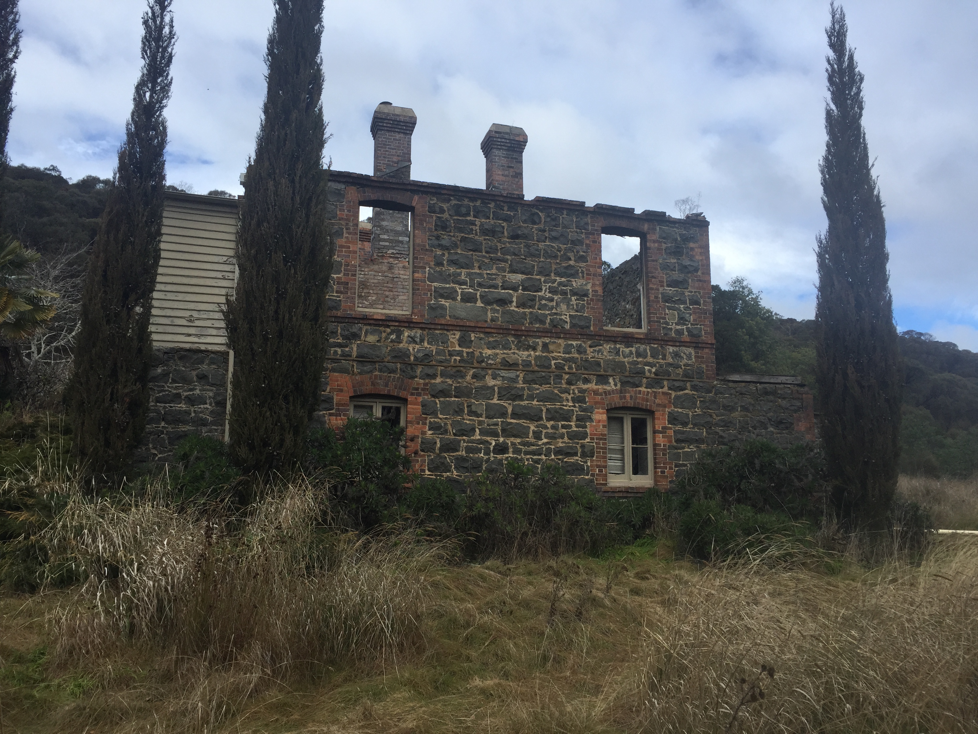Ruins of the chief engineers home