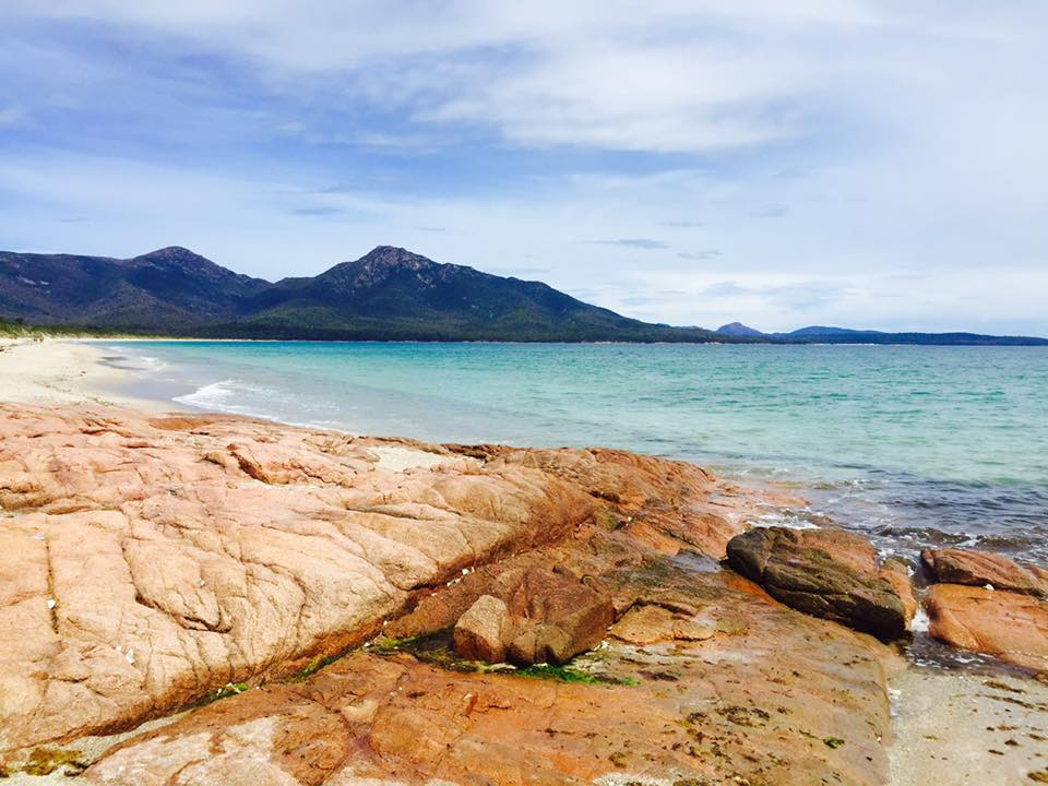 The picturesque Hazards Beach - Freycinet Circuit
