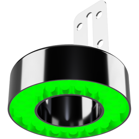 GWI 3in Ring Light Green