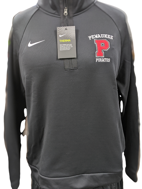 Women's Nike 1/4 Zip (black)