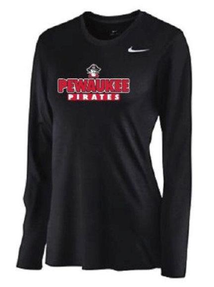 Women's Nike Long Sleeve T-Shirt (black)