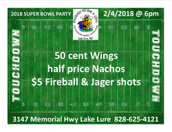 2018 superbowl party