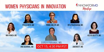 Women Physicians in Innovation Innovator
