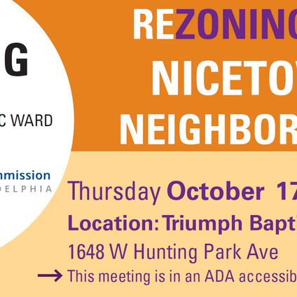 Nicetown Neighborhood Rezoning