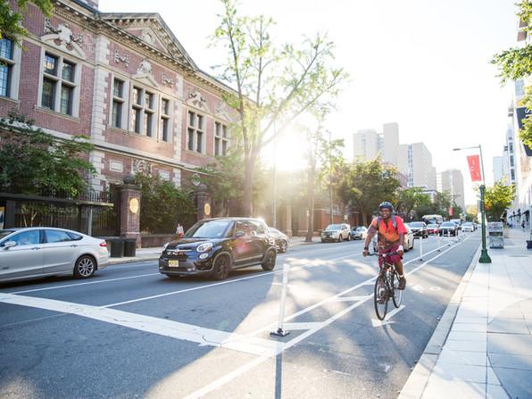 Chestnut Street Protected Bike Lane