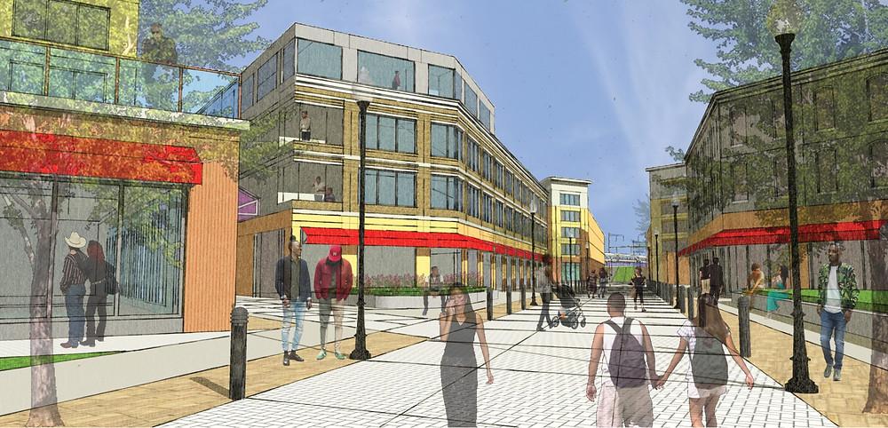 Potential Redevelopment in Germantown