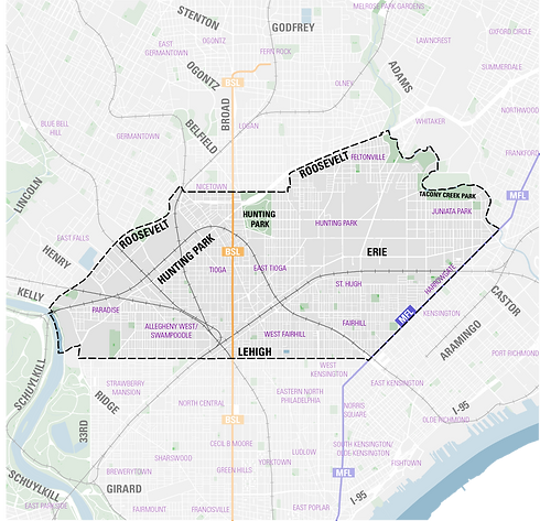 West Park District Map