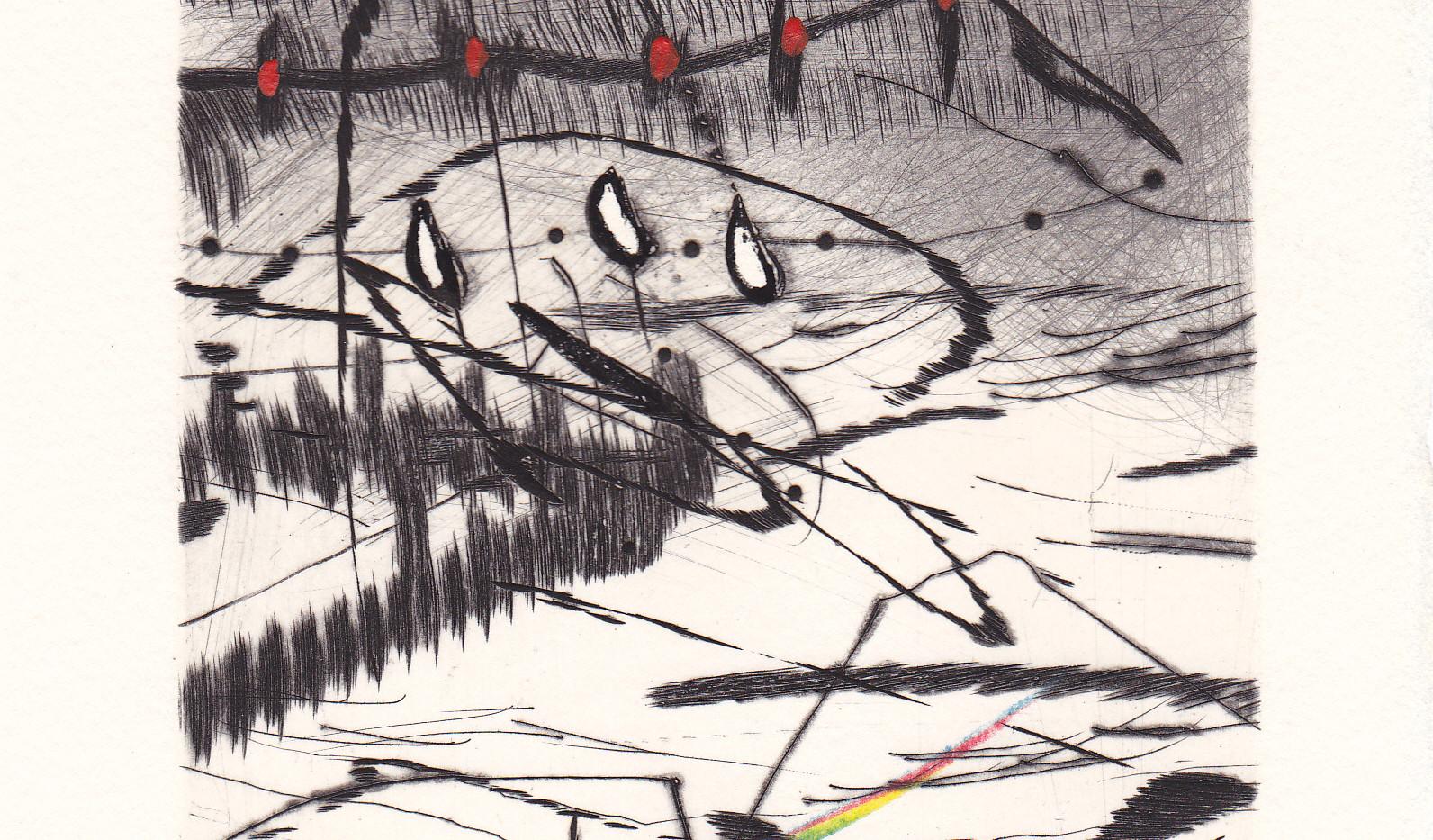 """illustration de Baltazar pour """"Autres choses"""" de Christian Viguié"""