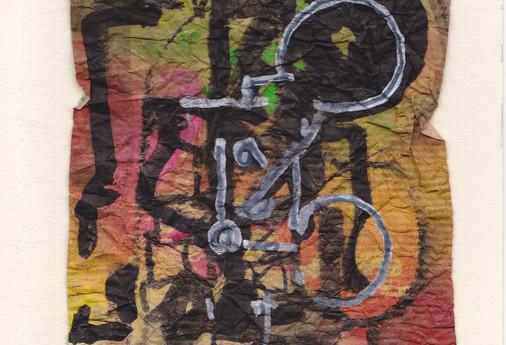 """illustration de Ladislas Kijno pour """"Fenêtre d'aveugle"""" de Salah Stétié"""