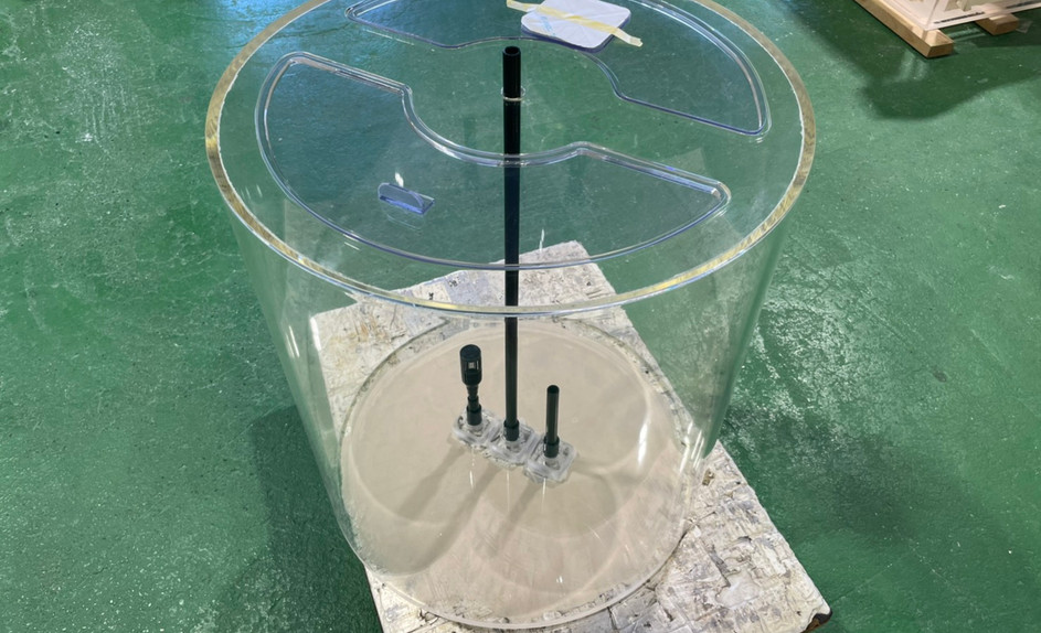 アクリル円柱水槽