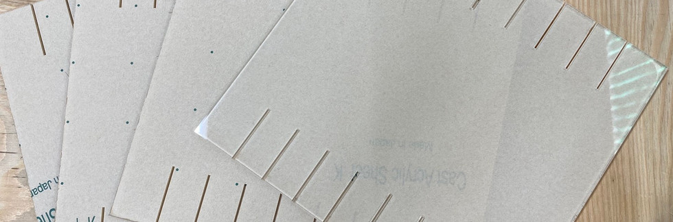 アクリル透明仕切り板