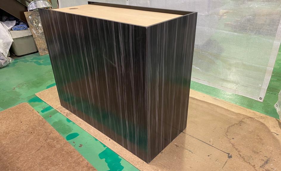 水槽用メラミン化粧架台