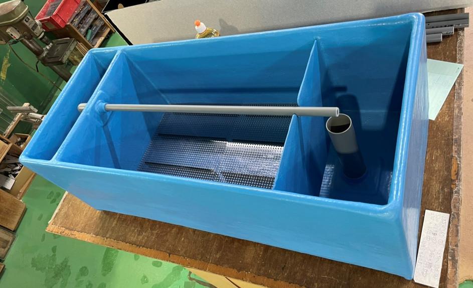 FRP製上部濾過槽