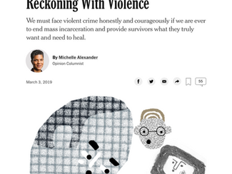 New York Times: Reckoning With Violence