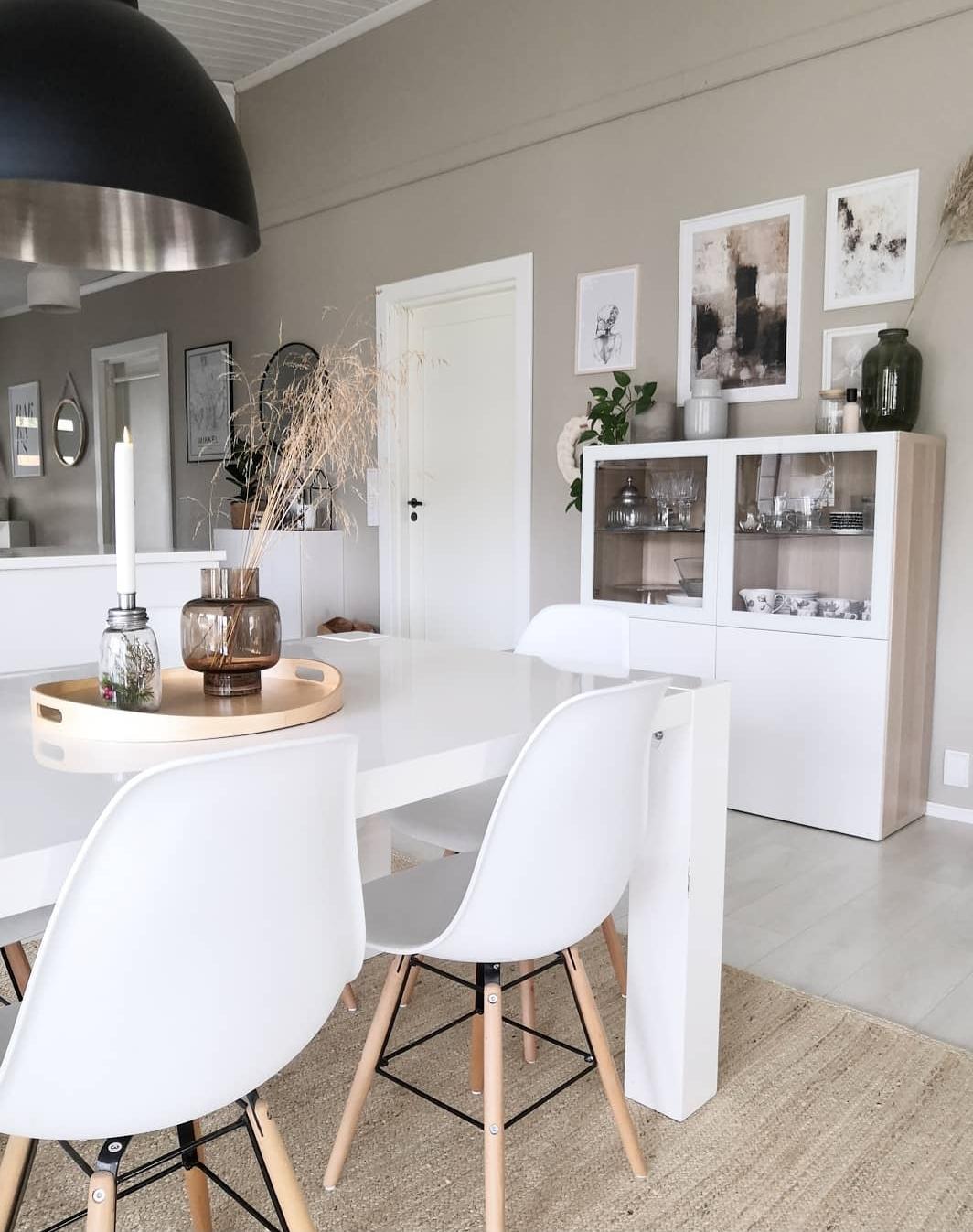Ad-bA: La salle à manger scandinave