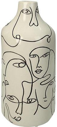 Vase artisanal VISAGE H: 28cm
