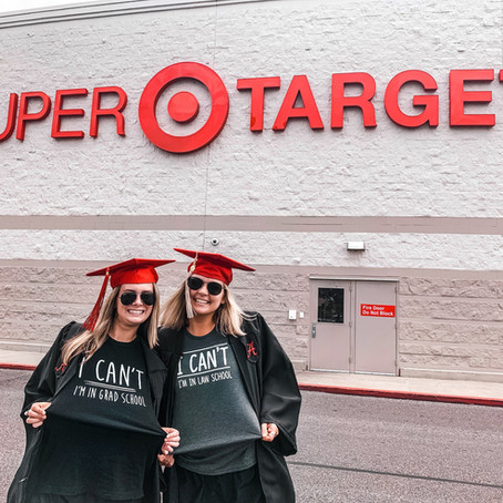When Grad Pics Take You to Target...