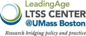 Leading Age LTSS Center UMass Boston logo
