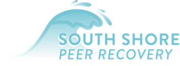 South Shore Peer Recovery blue wave logo