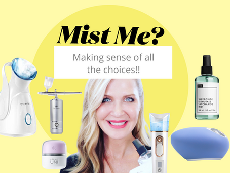 Mist me? Steam, spritz, mist - what's the difference and where do they fit in your skincare routine?