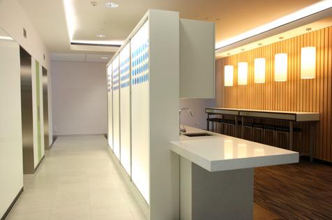 NZ Customs Service -  Wellington, Lift Lobby / Staff Space