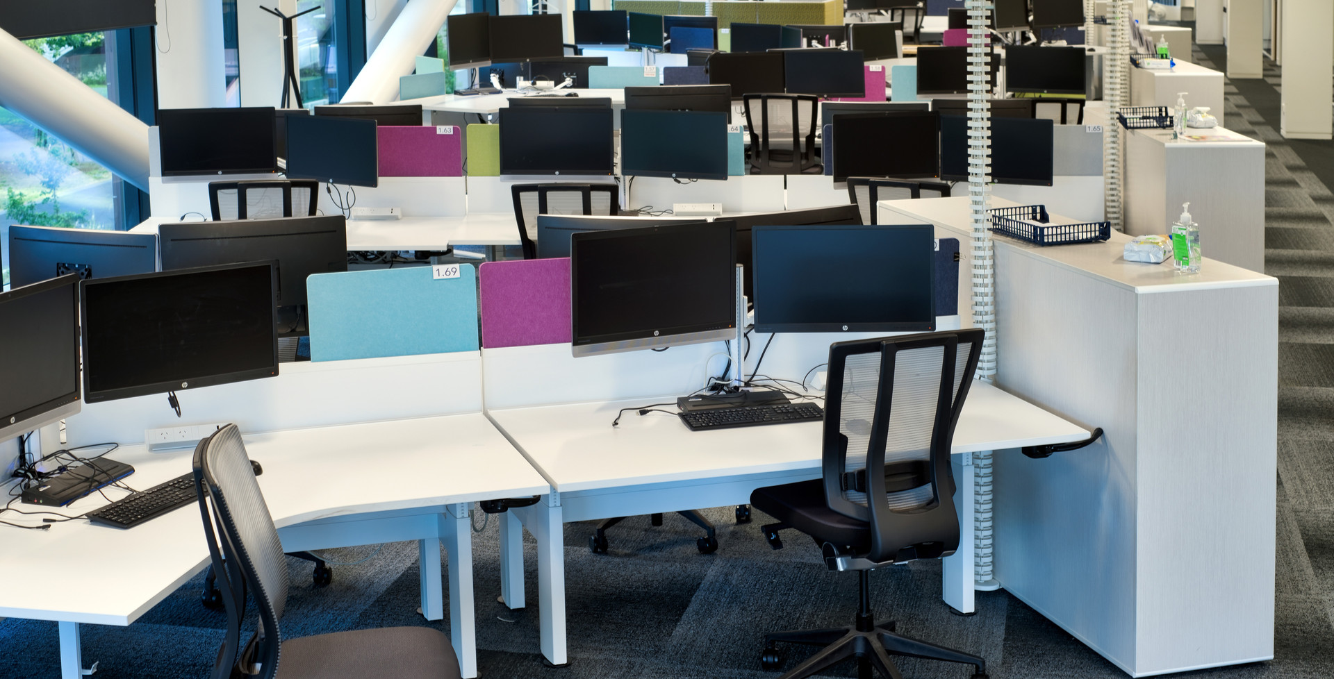 Typical Open Plan Working Space