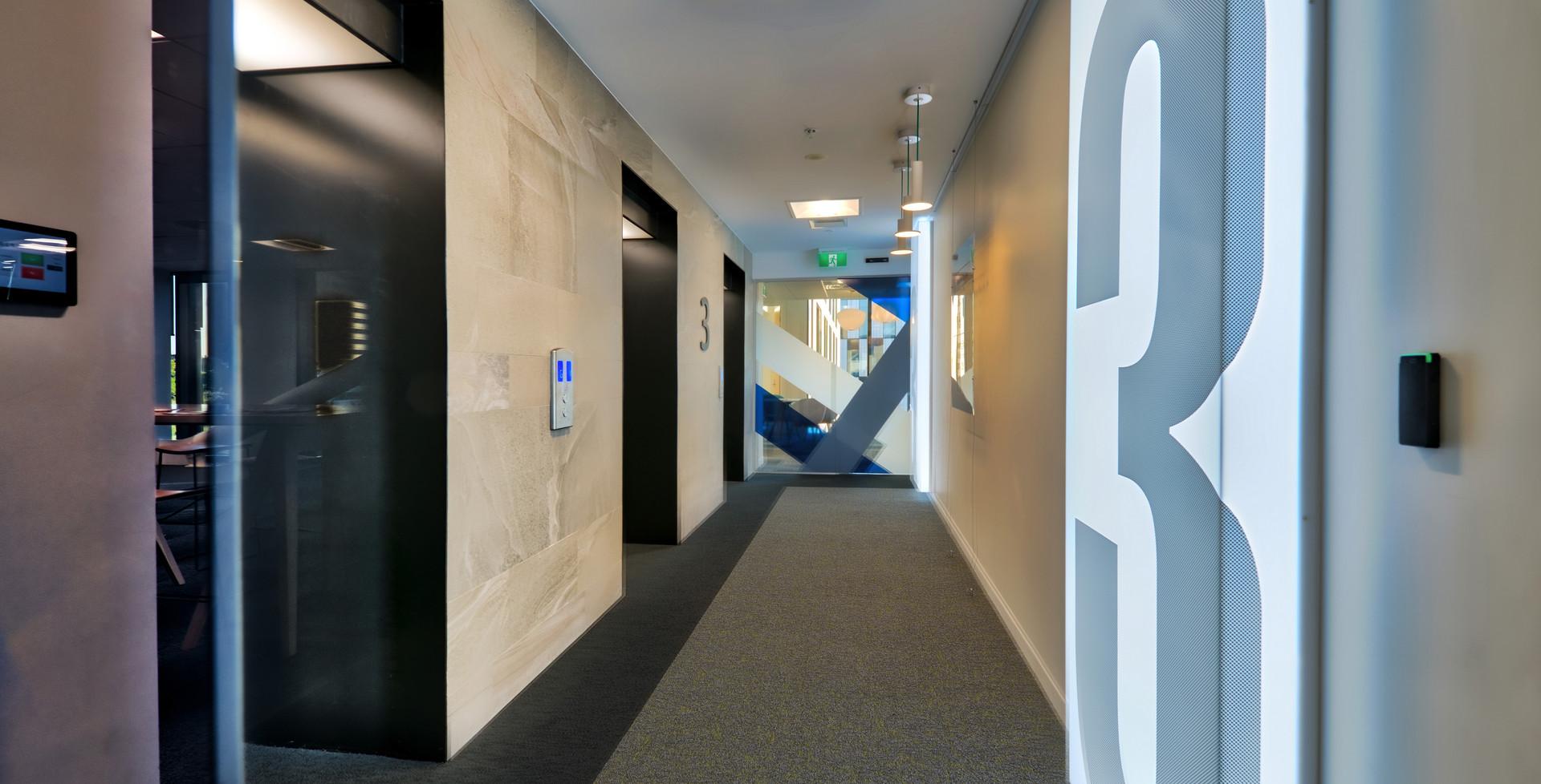 Lift Lobby & Floor Level Identification