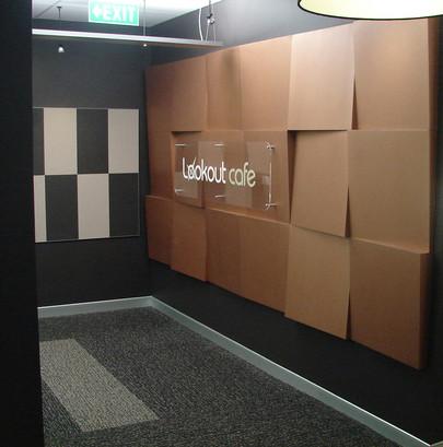 NZ Police Headquarters - Wellington, Cafe' Entrance
