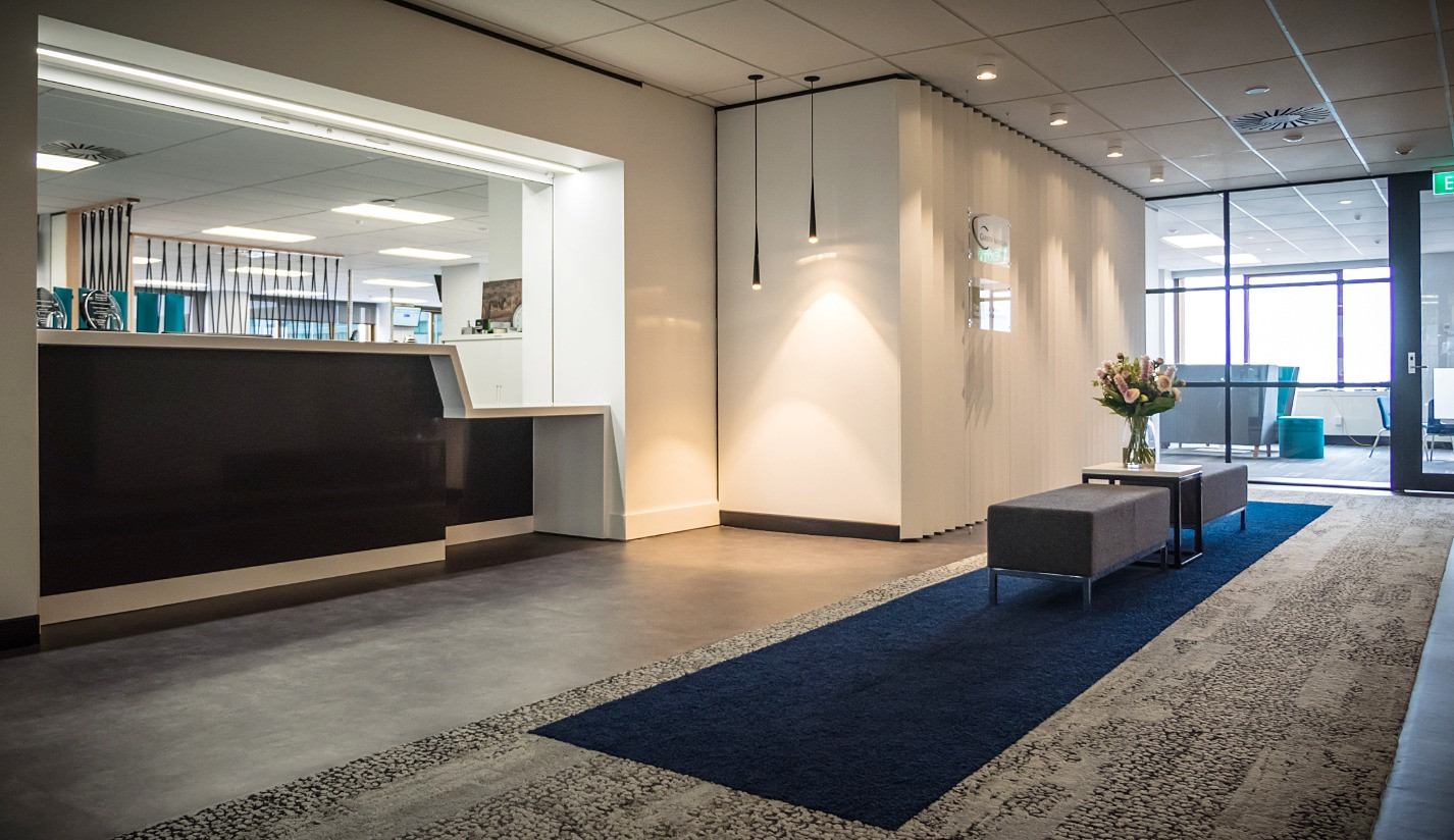 Reception & Waiting Space