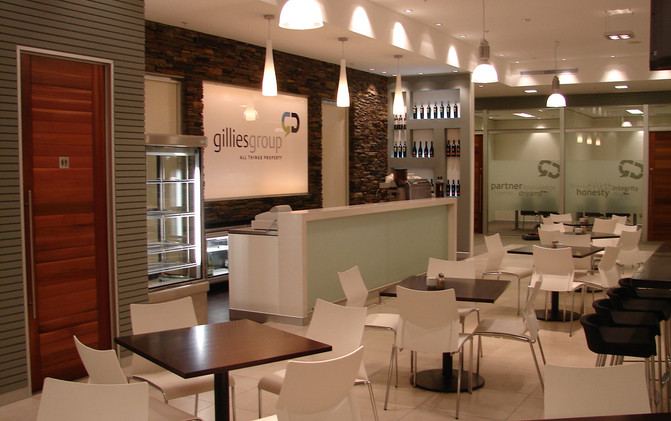 The Professionals / Gillies Group - Cafe' Counter