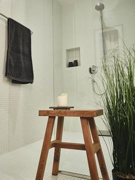 Badezimmer in der Mietwohnung