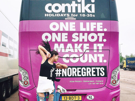 All about my first CONTIKI! (From Amsterdam to Germany) - #NoRegrets