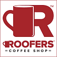 Roofer's Coffee Shop Logo