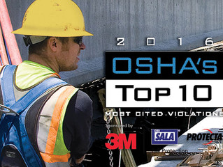 OSHA's Top 10 Most Cited Violations