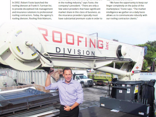 Frank H. Furman, Inc.'s Roofing Risk Advisors listed as Top Specialist Broker