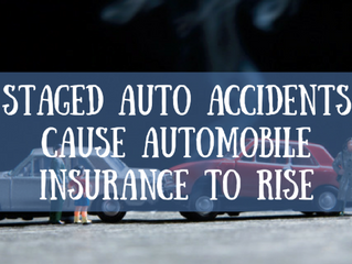 Staged Auto Accidents Increase Insurance Costs