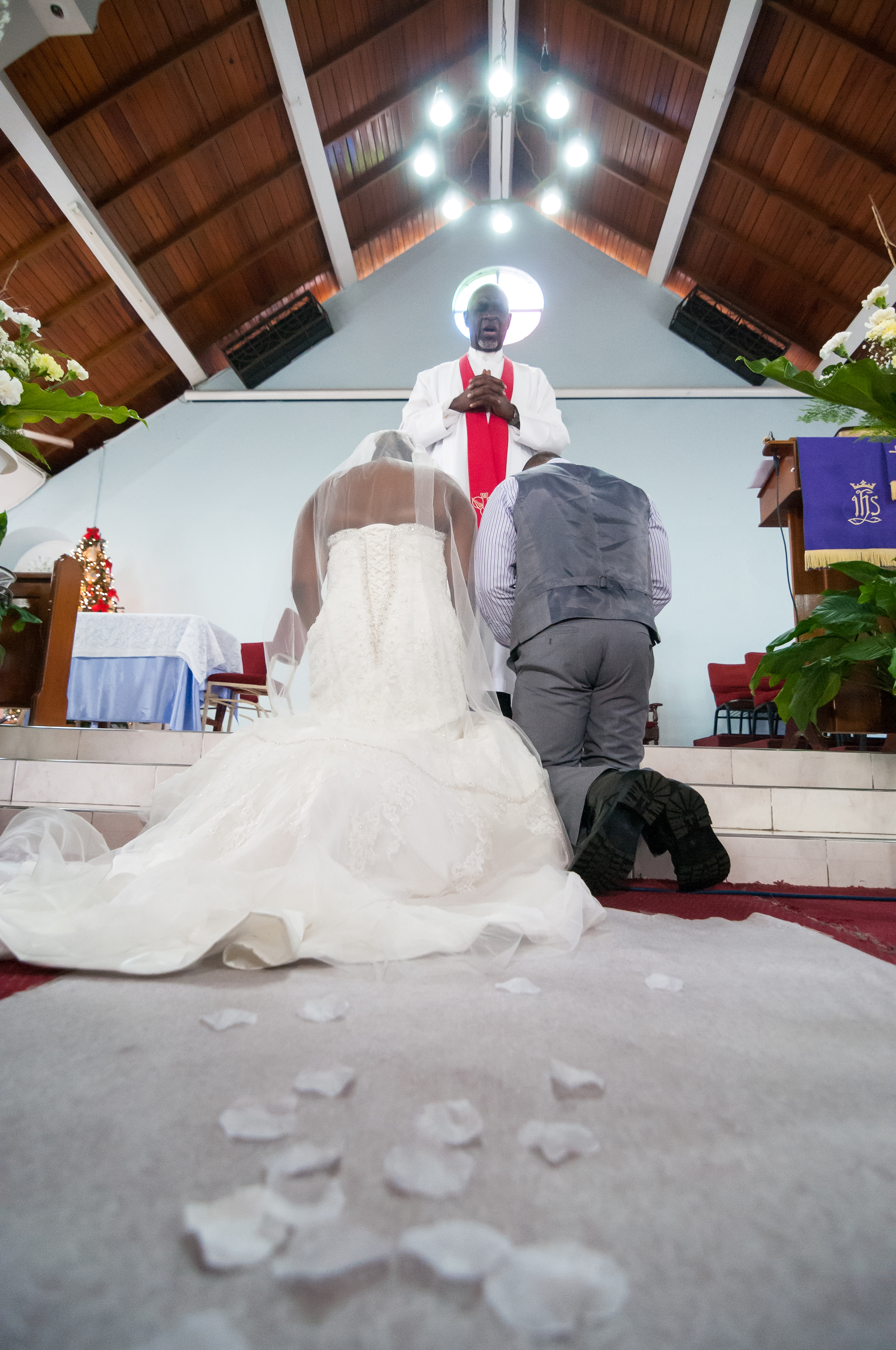 Bride and Groom in Jamaica