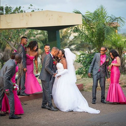 Wedding Day Love in Jamaica