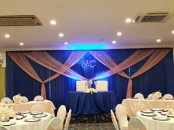 Indoor Wedding Backdrop