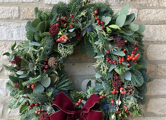 Large Natural Wreath