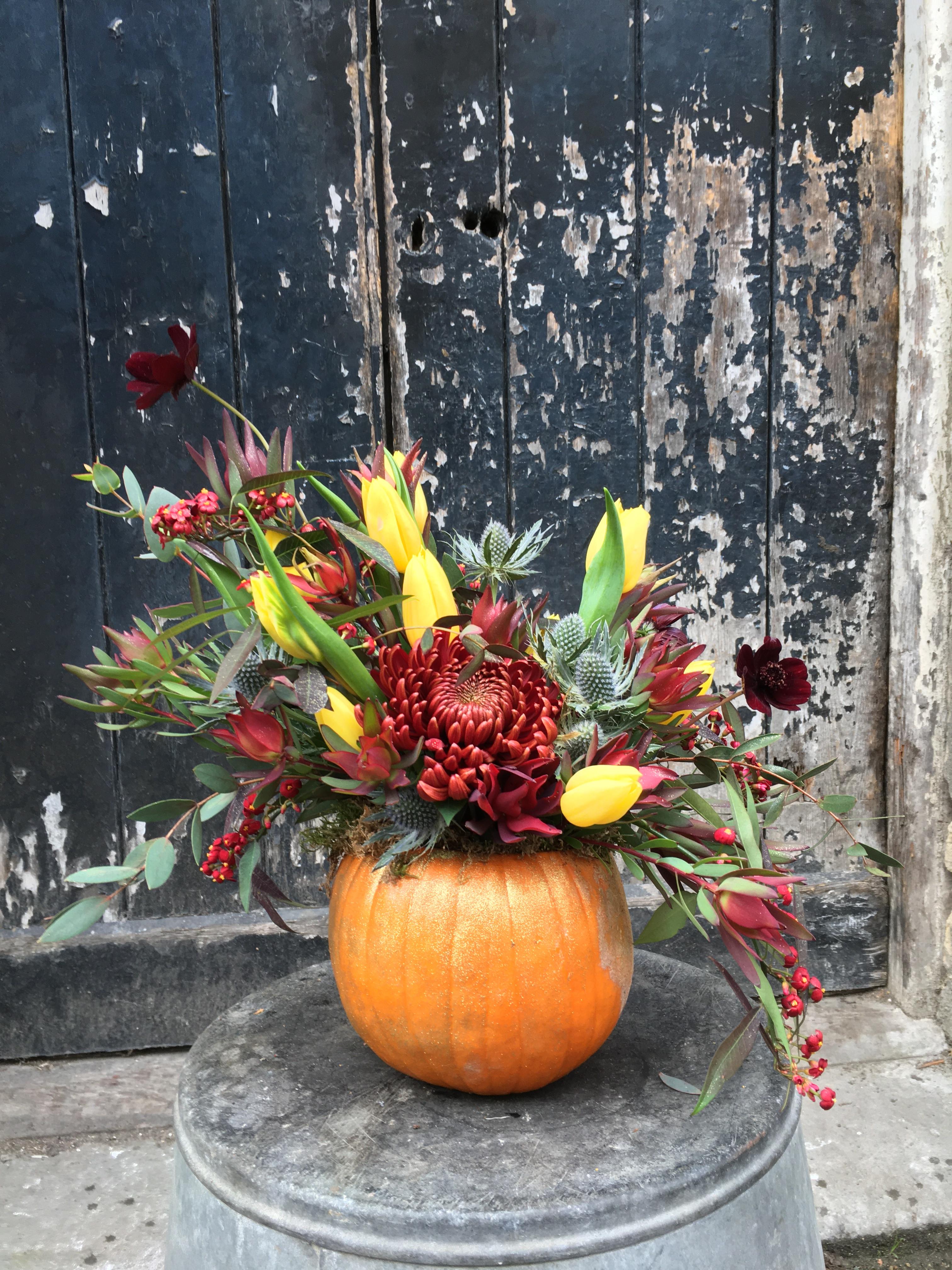 Floral Pumpkins 30/10/21 10-12:00