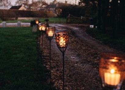 Candle torches